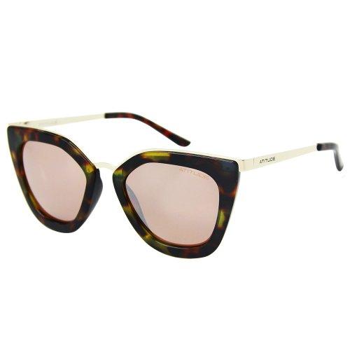 Óculos de sol Atitude 5340 rosa na Optica Via Prisma b563b1df50