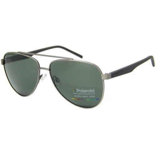 Óculos de sol Polaroid 2043 aviador polarizado na Optica Via Prisma 48bacf4350