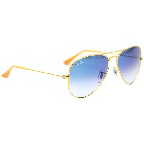 ... ebay 3025 0013f aviador dourado com lentes azul degrade. código86d9580  marca ray ban. de ... 3741beac3d