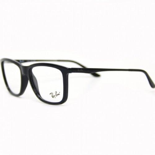35c176b31bd61 Esta armação de óculos Ray-Ban preto RB 7061 além de ser de acetato um  material de alta qualidade,com sua cor p... saiba mais abaixo.